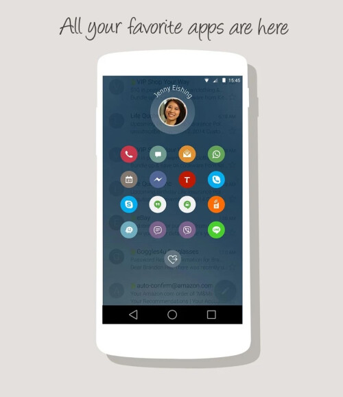 Drupe for Android images