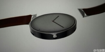 An alleged leaked render of the Moto 360 successor