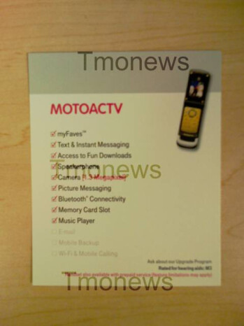 Motorola ACTV W450 is tough phone for T-Mobile