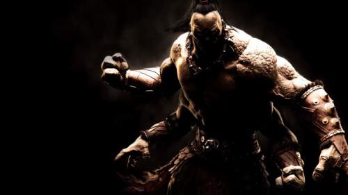 Mortal Kombat X game art