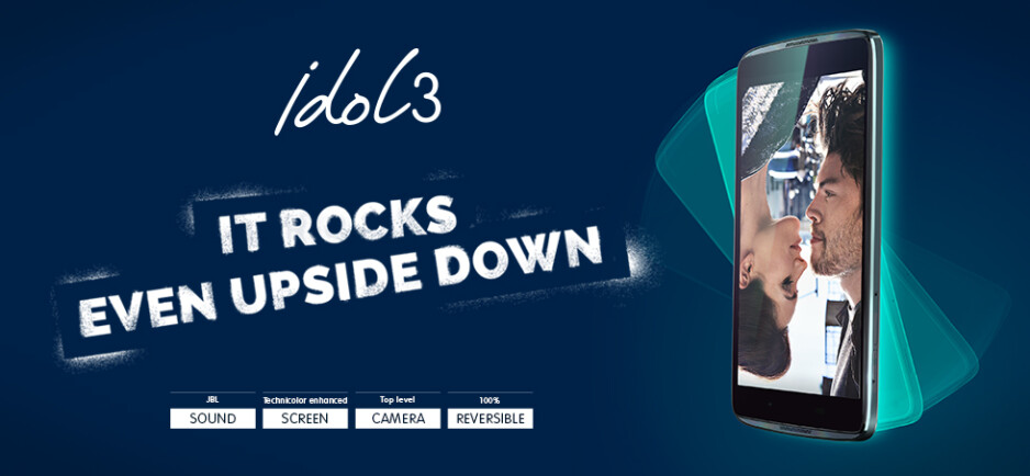 Alcatel OneTouch announces the Idol 3 pre-orders, upper-midrange specs at a low price
