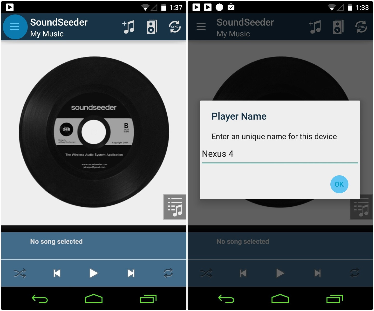 how to download music on android device