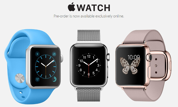 Apple Watch pre-orders now open: shipping times range from weeks to months