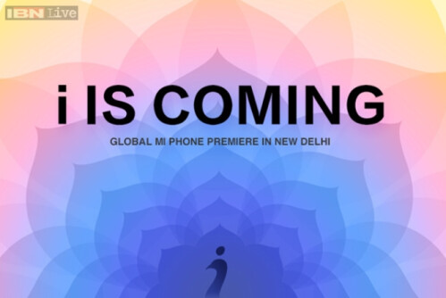 Xiaomi sends out invitations to April 23rd event