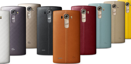Leaked images of the LG G4