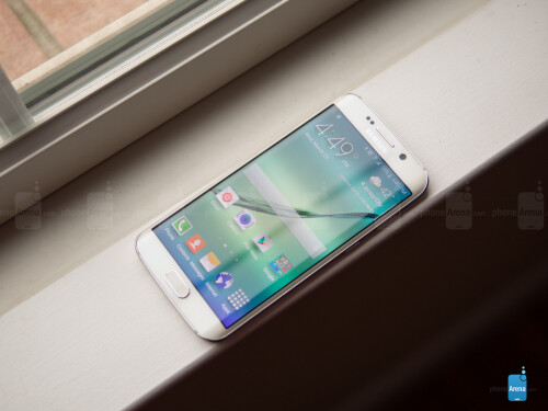 The Samsung Galaxy S6 edge