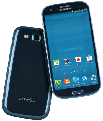 Grab a Galaxy SIII LTE from FreedomPop and enjoy a free month of Unlimited Talk, Text, & Data!