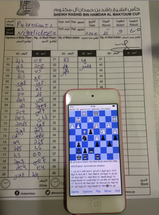 Chess grandmaster cheats with an iPhone in the bathroom bin, is canned