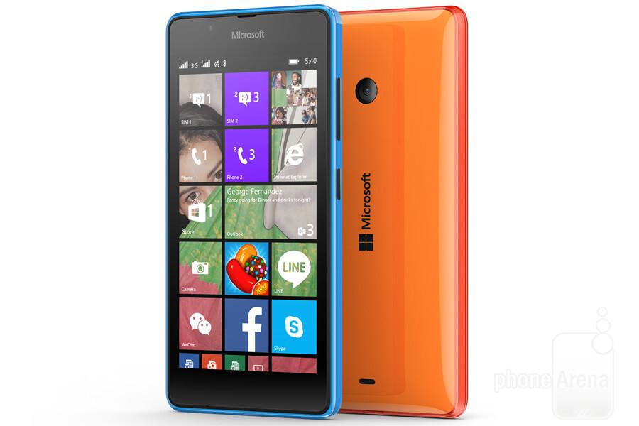 Microsoft Announces The Lumia 540 Dual Sim 149 Wp8 1