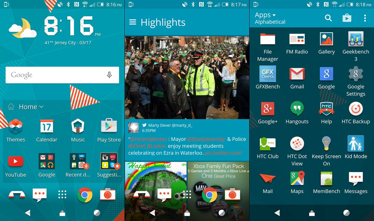 Google theme winner - Image From Samsung S New Touchwiz Vs Htc Sense Ui 7 Comparison Results Here Is The Winner