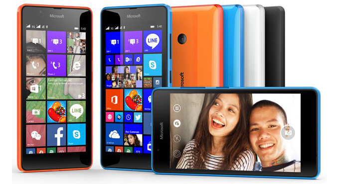 Microsoft announces the Lumia 540 Dual SIM - $149 WP8.1 trooper with a 5MP wide-angle selfie camera
