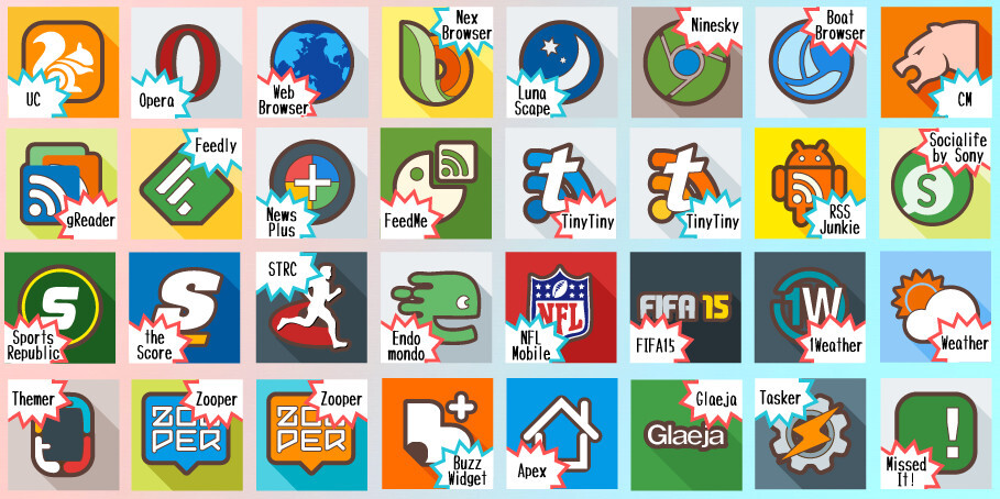 Best new icon packs for Android (April 2015) #2