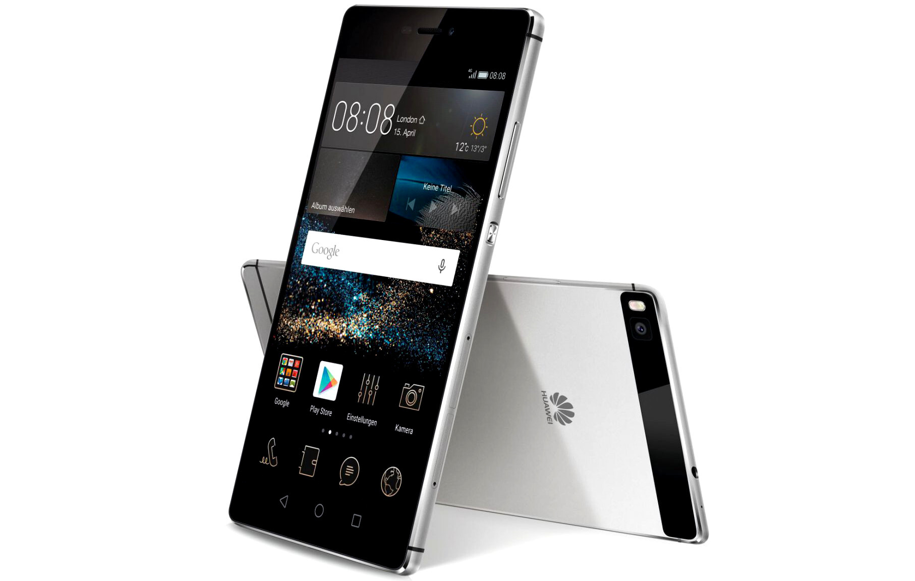 huawei p8 unveiled 5 2 inch super slim flagship with full metal unibody and innovative rgbw. Black Bedroom Furniture Sets. Home Design Ideas