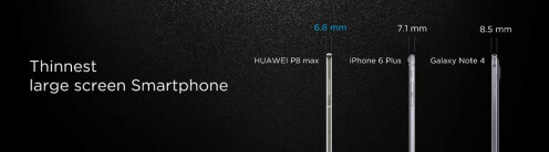 Huawei P8 Max images