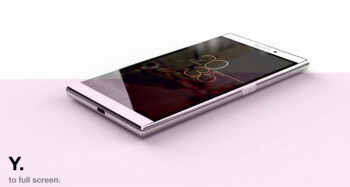 Internal Sony render of the Xperia Z4?
