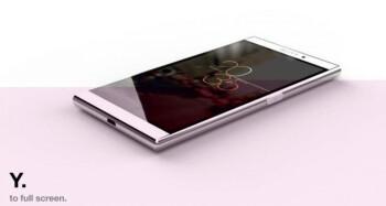 Internal Sony render of the Xperia Z4?