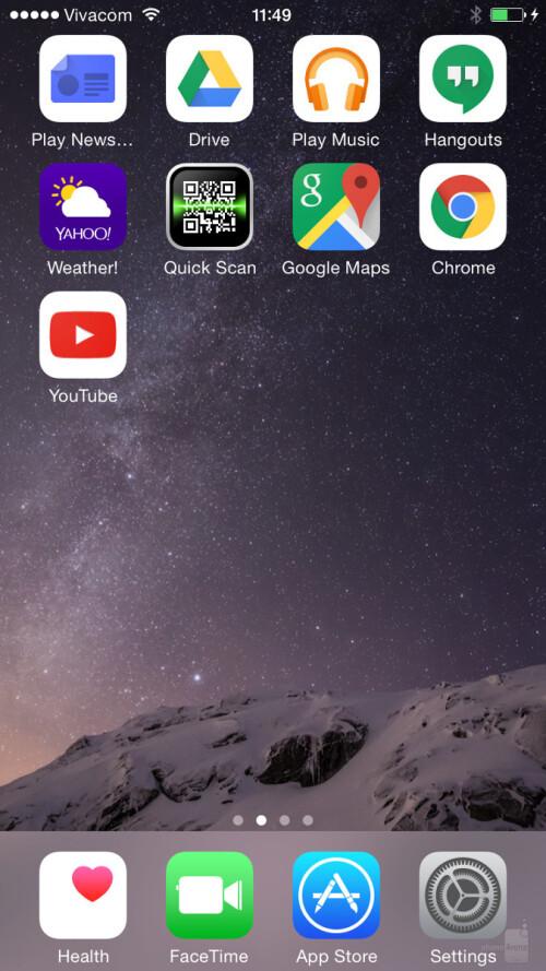 App-like shortcut