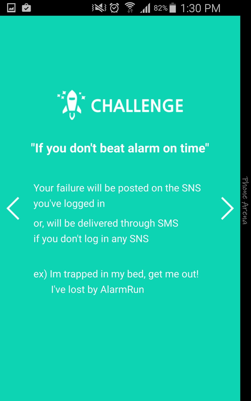 AlarmRun will blackmail you into getting out of bed