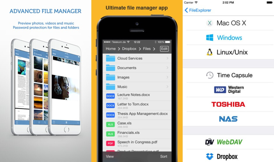 Useful file managers for iPhone and iPad
