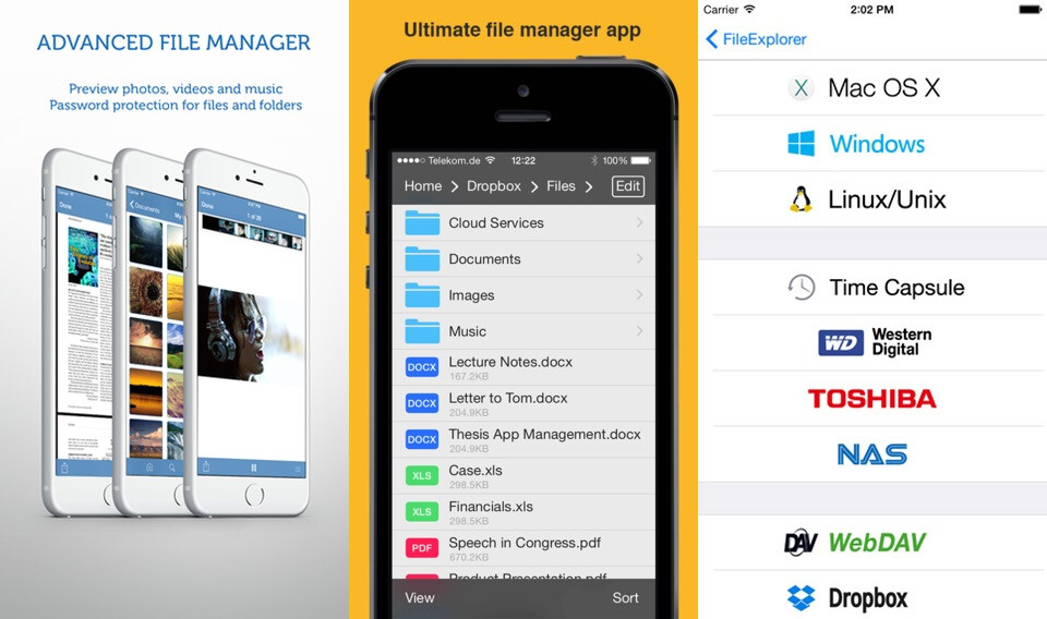 Useful file managers for iPhone and iPad - PhoneArena