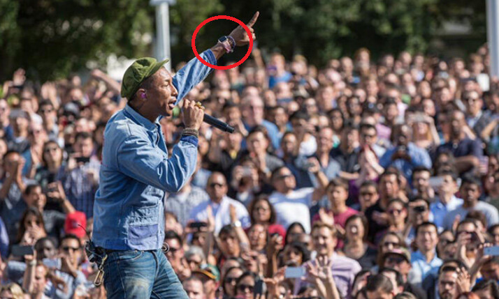 Pharrell gets happy at Apple's Earth Day concert - Second wave of Apple Watch pre-orders could start May 8th in Italy and 21 other countries