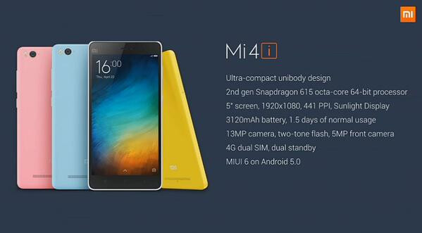 Xiaomi Mi 4i price and release date: shockingly low price, registrations start April 30th