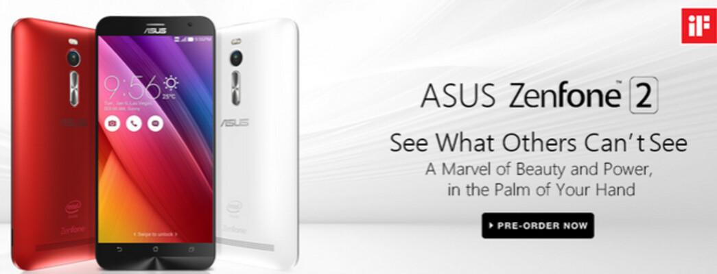 Asus ZenFone 2 launches in India as a Flipkart exclusive