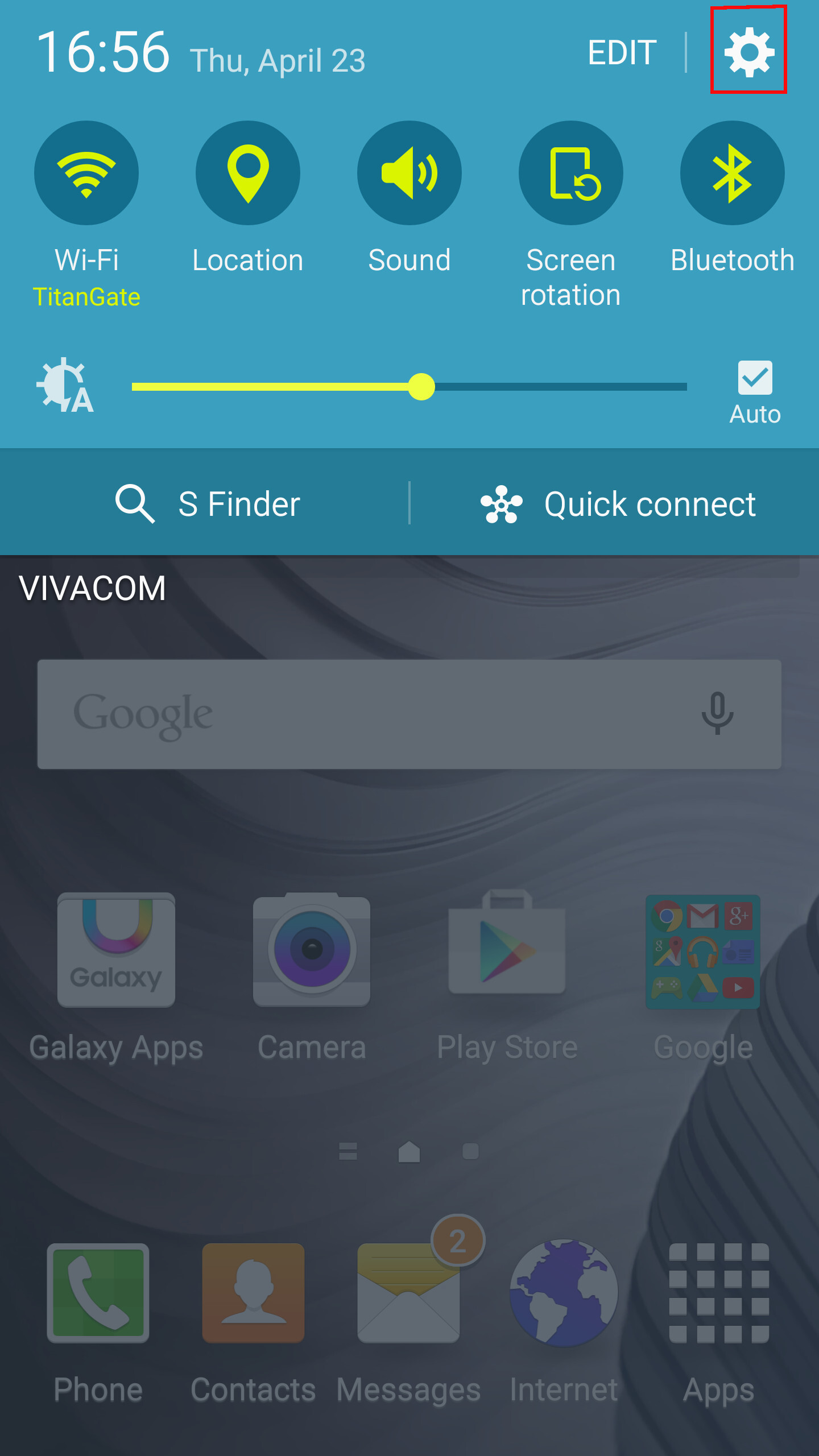 How To Send A File Via Bluetooth On Android (samsung Galaxy S6 Tutorial)