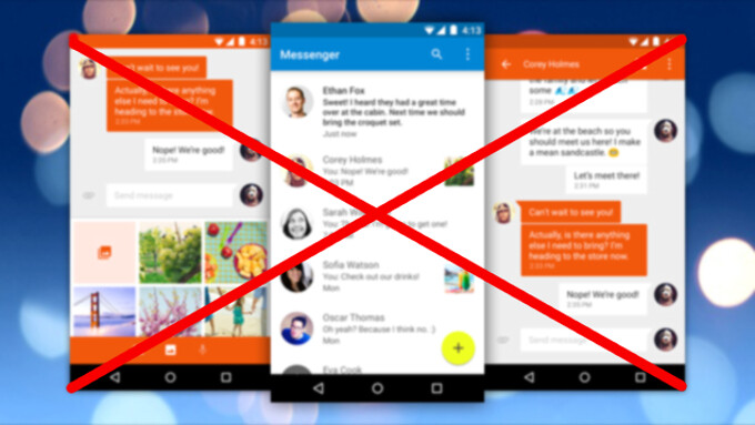 How to blacklist and block unwanted text messages in Google Messenger