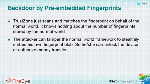Fingerprint scanners can leave you vulnerable to theft