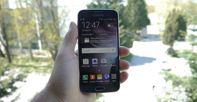 Living with the Samsung Galaxy S6: Day Zero