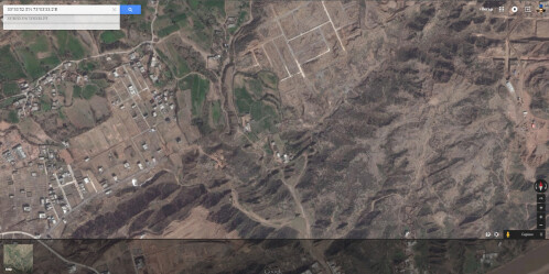 The same piece of land in Satellite View