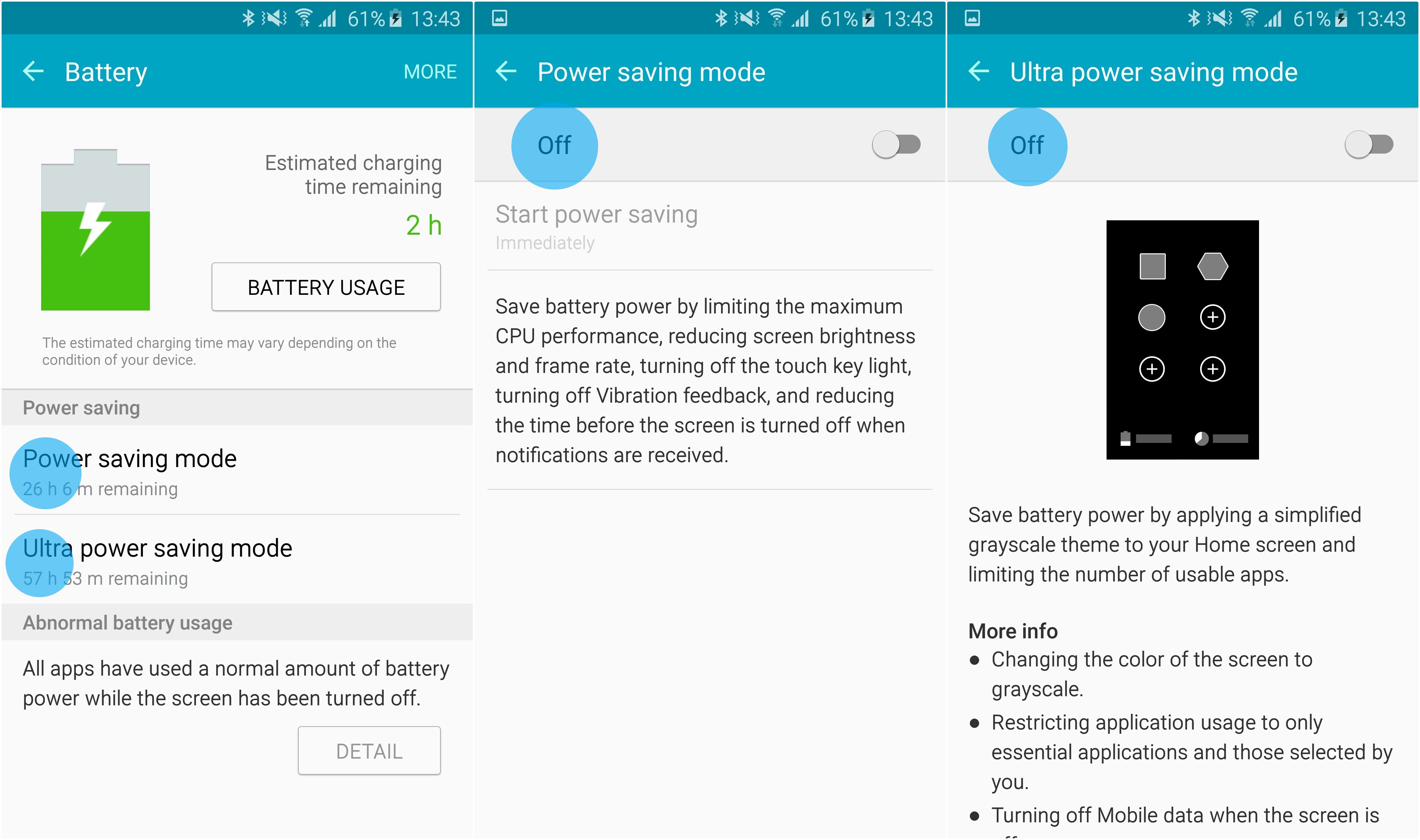 Tips Extending Android Battery Life Use The Power Saving Features