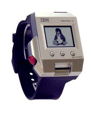 """The IBM WatchPad - a 74MHz processor and Linux on your wrist - Did you know: these were some of the first """"smartwatches"""" ever"""