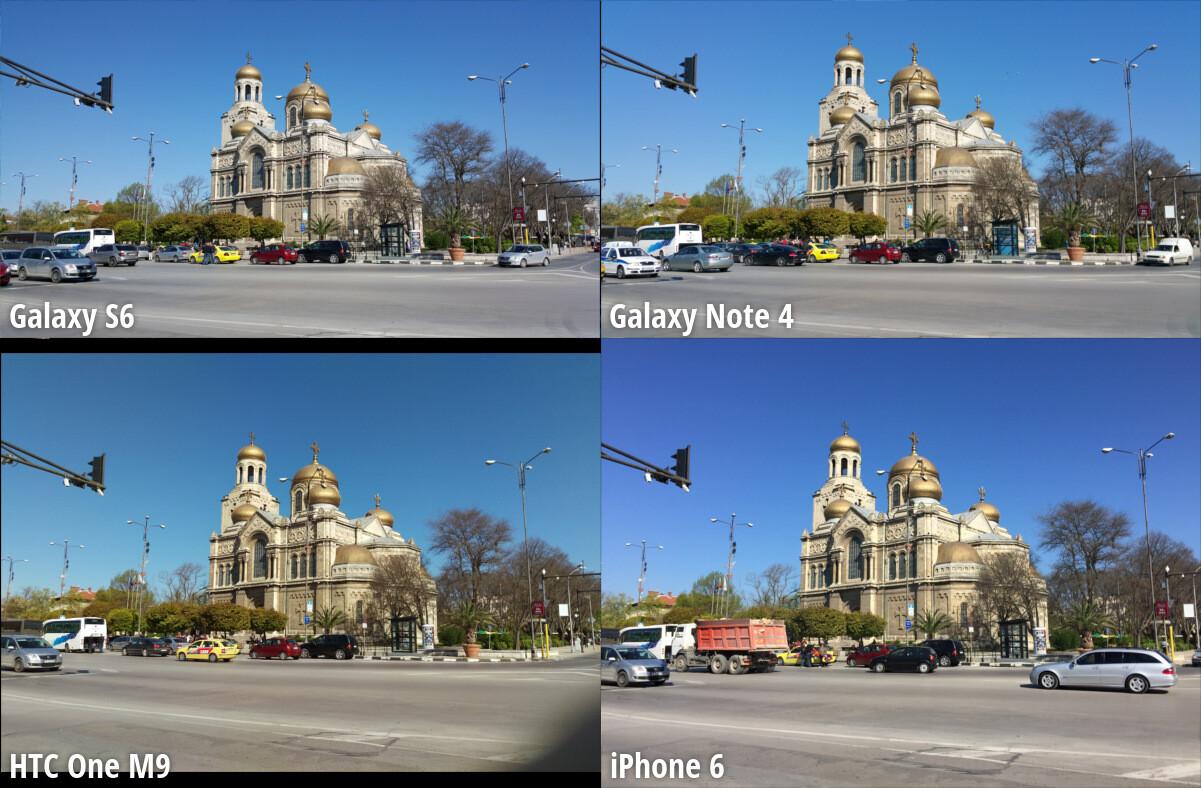 Samsung galaxy note 5 vs htc one m9 plus a comparison - Scene 1 Noon Broad Daylight