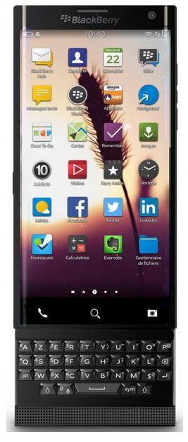 Another look at BlackBerry's top-shelf slider
