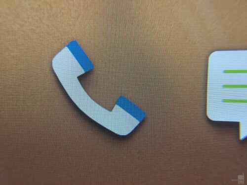 HTC One M9 display zoomed in