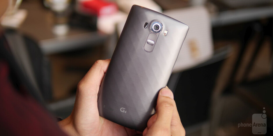 LG G4 hands-on: Take that, Galaxy S6!