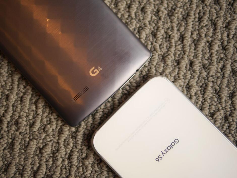 LG G4 vs Samsung Galaxy S6: First look