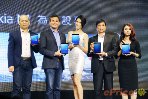 Video and photos from the Nokia N1 launch event in Taiwan