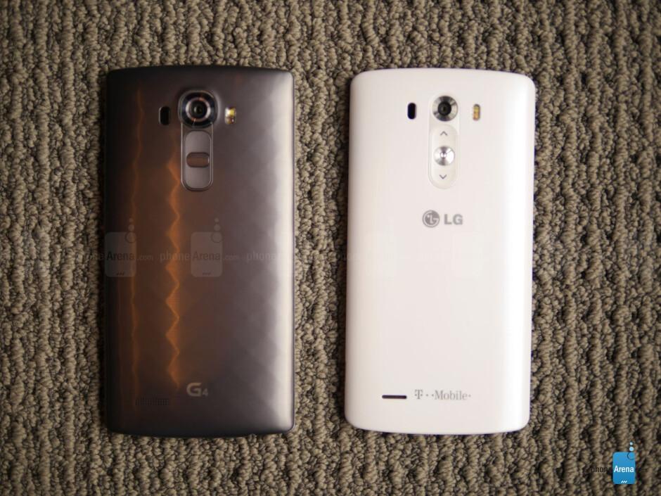 LG G4 vs LG G3: first look