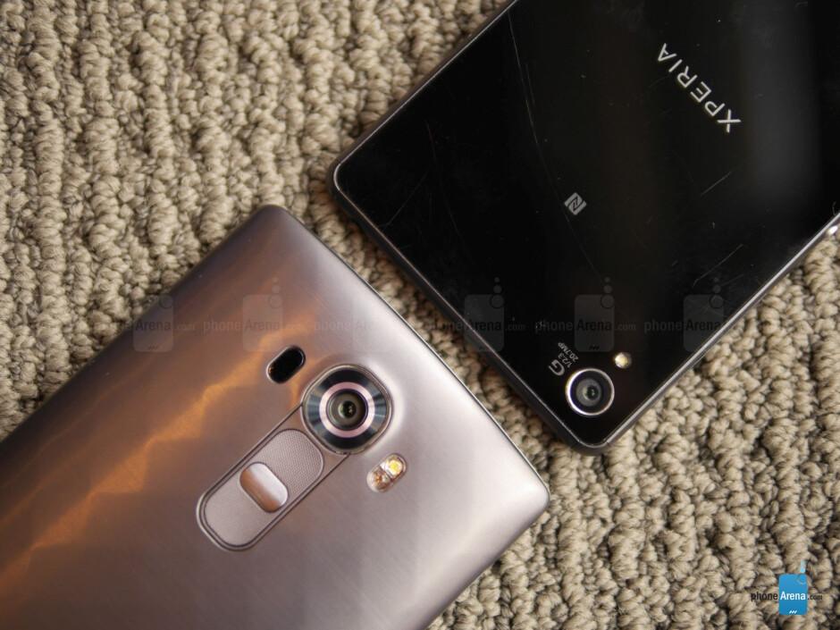 LG G4 vs Sony Xperia Z3: first look