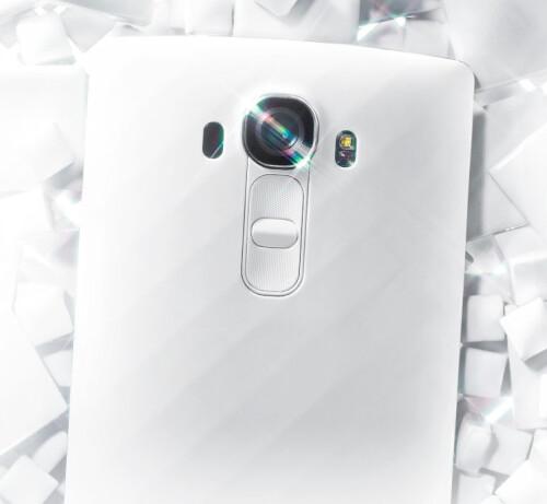 LG G4 in white plastic