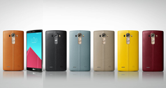 LG G4: here are all the different color versions