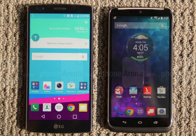 LG G4 vs Motorola Droid Turbo: first look