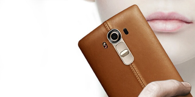 LG G4 with retro-chic leather charm and top-shelf internals announced