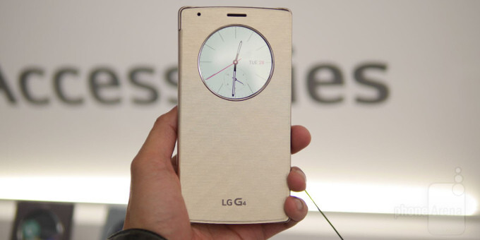 Here are the official LG G4 cases