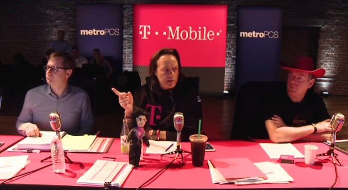 John Legere denies claims that T-Mobile is throttling heavy data users on the Unlimited 4G LTE data plan