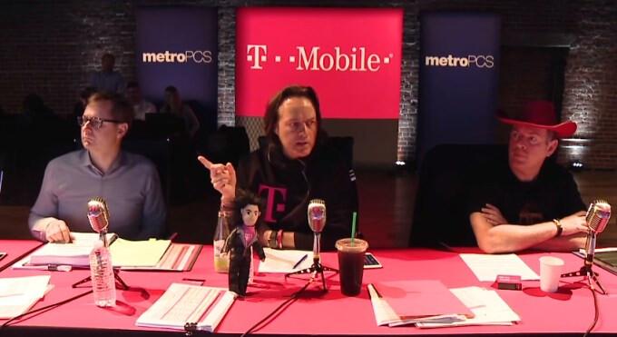 John Legere denies claims that T-Mobile is throttling heavy data