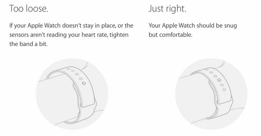 If wearing the Apple Watch irritates your skin, Apple says you might be wearing it wrong - Getting skin irritation from your Apple Watch? Apple says you might be wearing it wrong